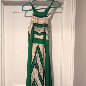 Emerald green Eliza J dress
